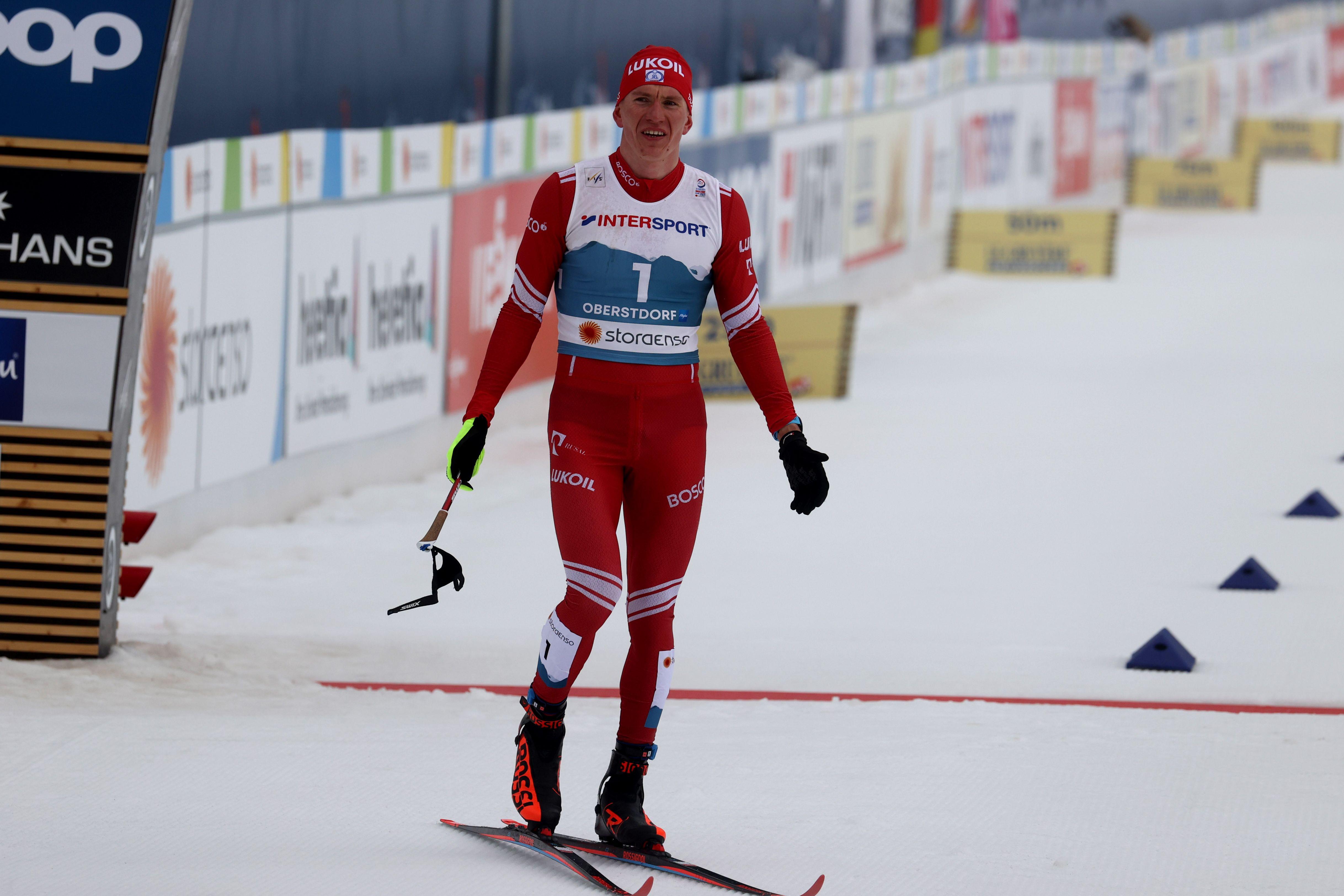 Большунов на чемпионате России побежит спринт и скиатлон