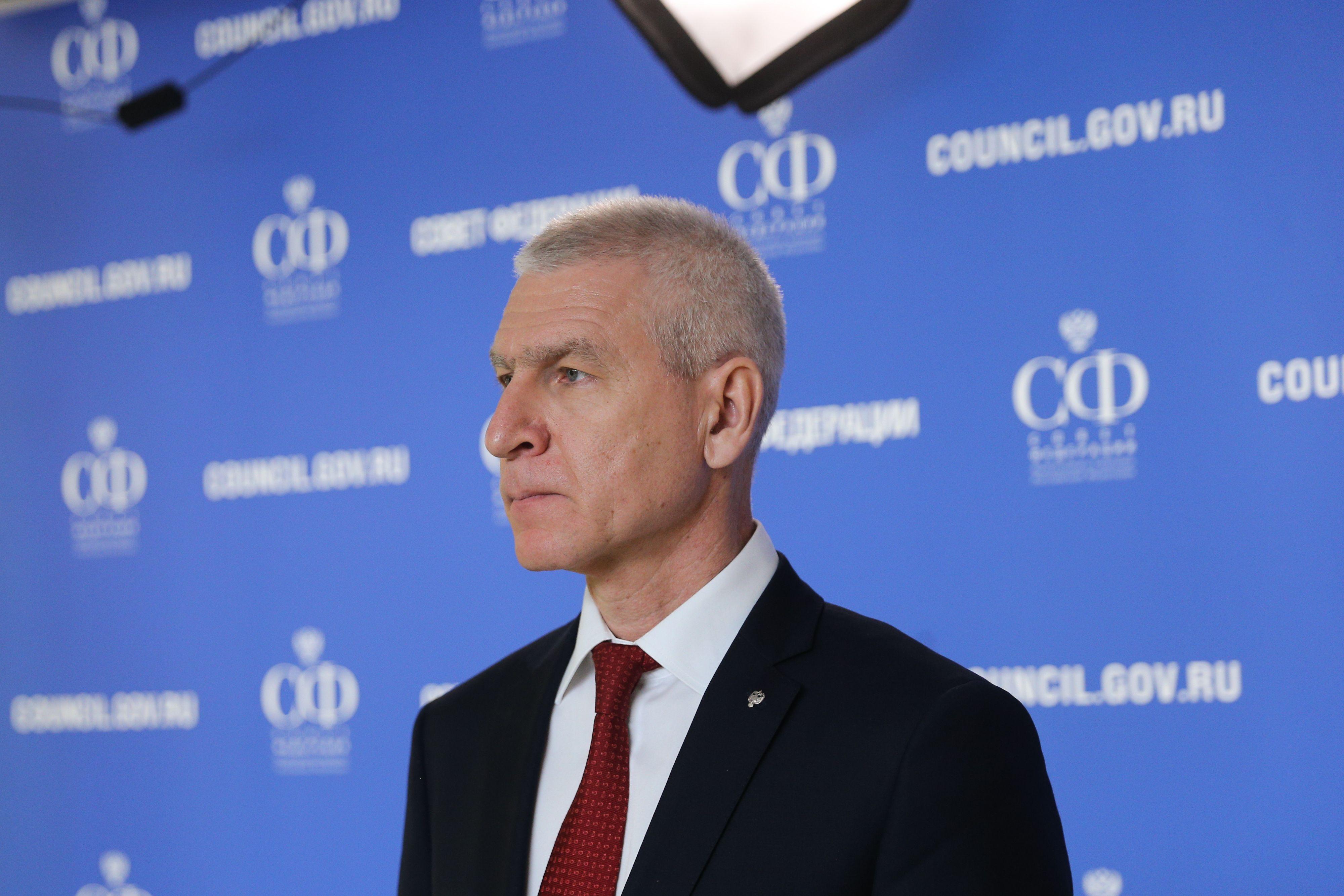Матыцин приостановил работу на посту президента FISU