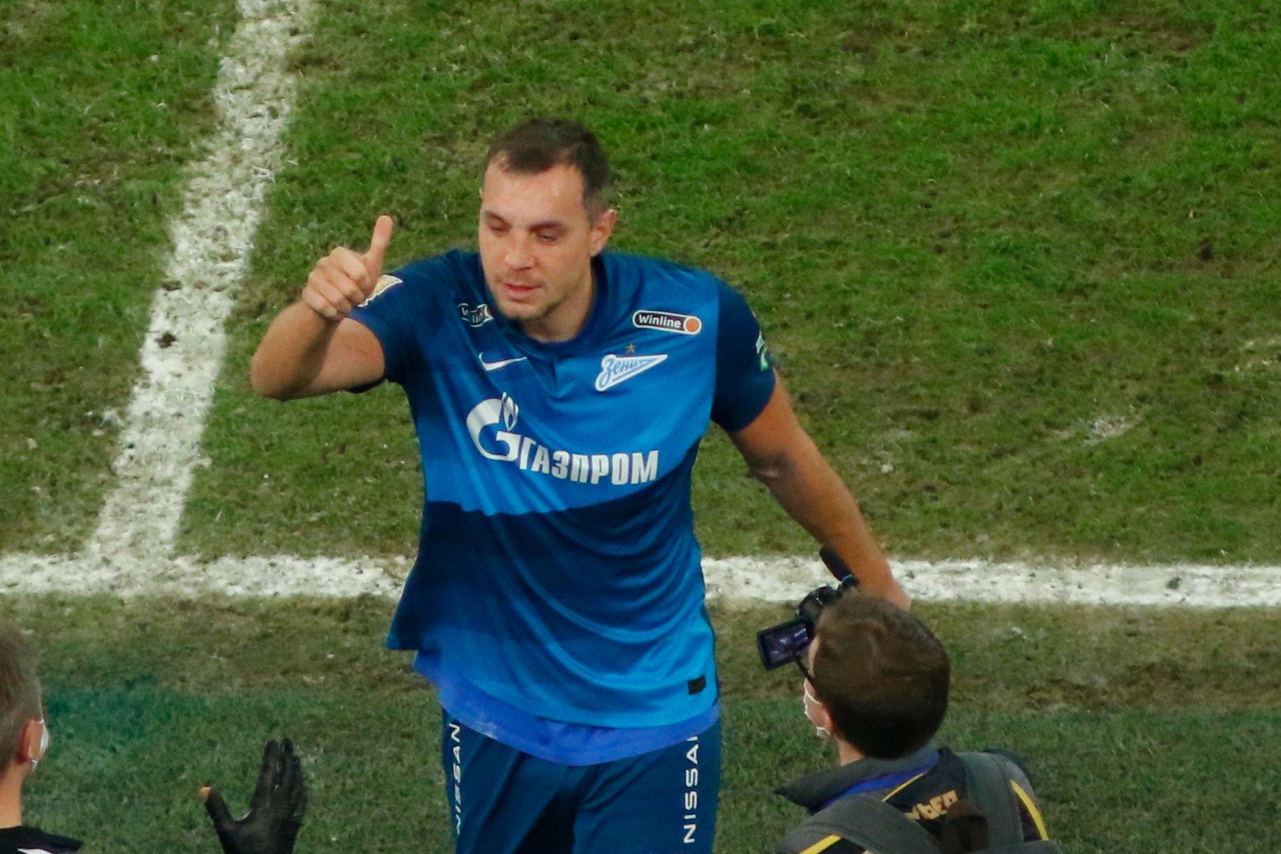 Дзюба вышел на чистое второе место в списке лучших бомбардиров в истории сборной России