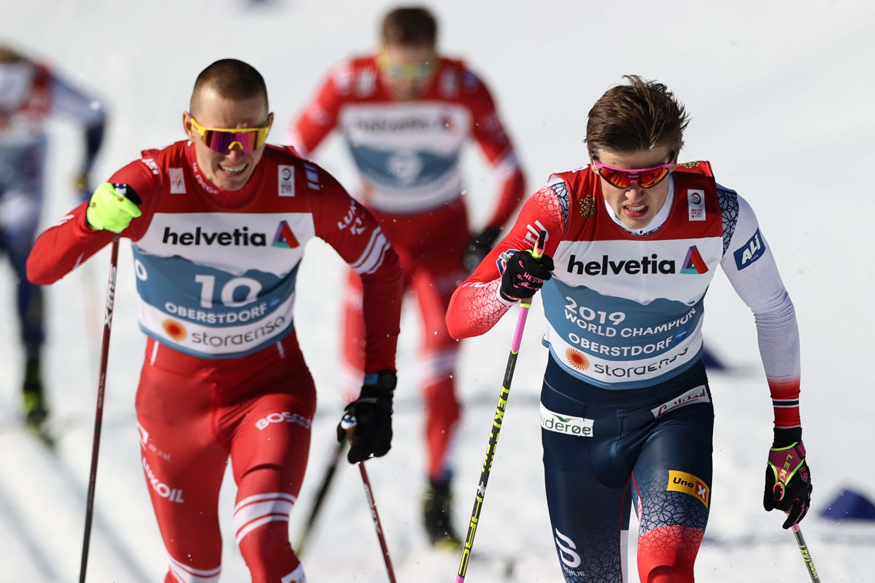 Крамер: 'Лыжам повезло с Большуновым и Клебо, стимулирующими друг друга быть ещё лучше'