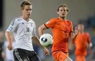 Футбол, Молодёжный чемпионат Европы, Германия - Нидерланды, Прямая текстовая онлайн трансляция