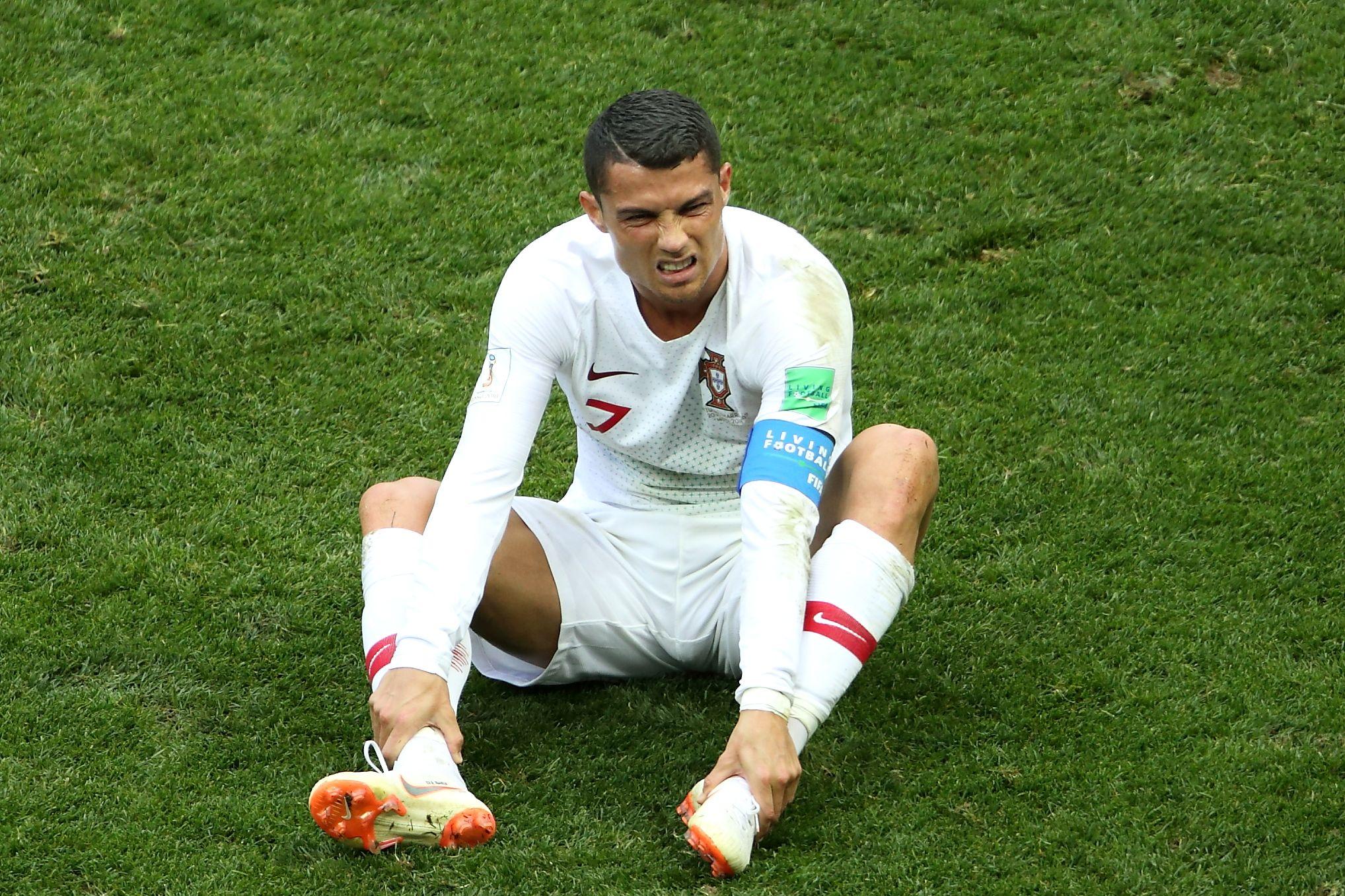 Роналду высказался после скандала с не засчитанным голом в ворота Сербии