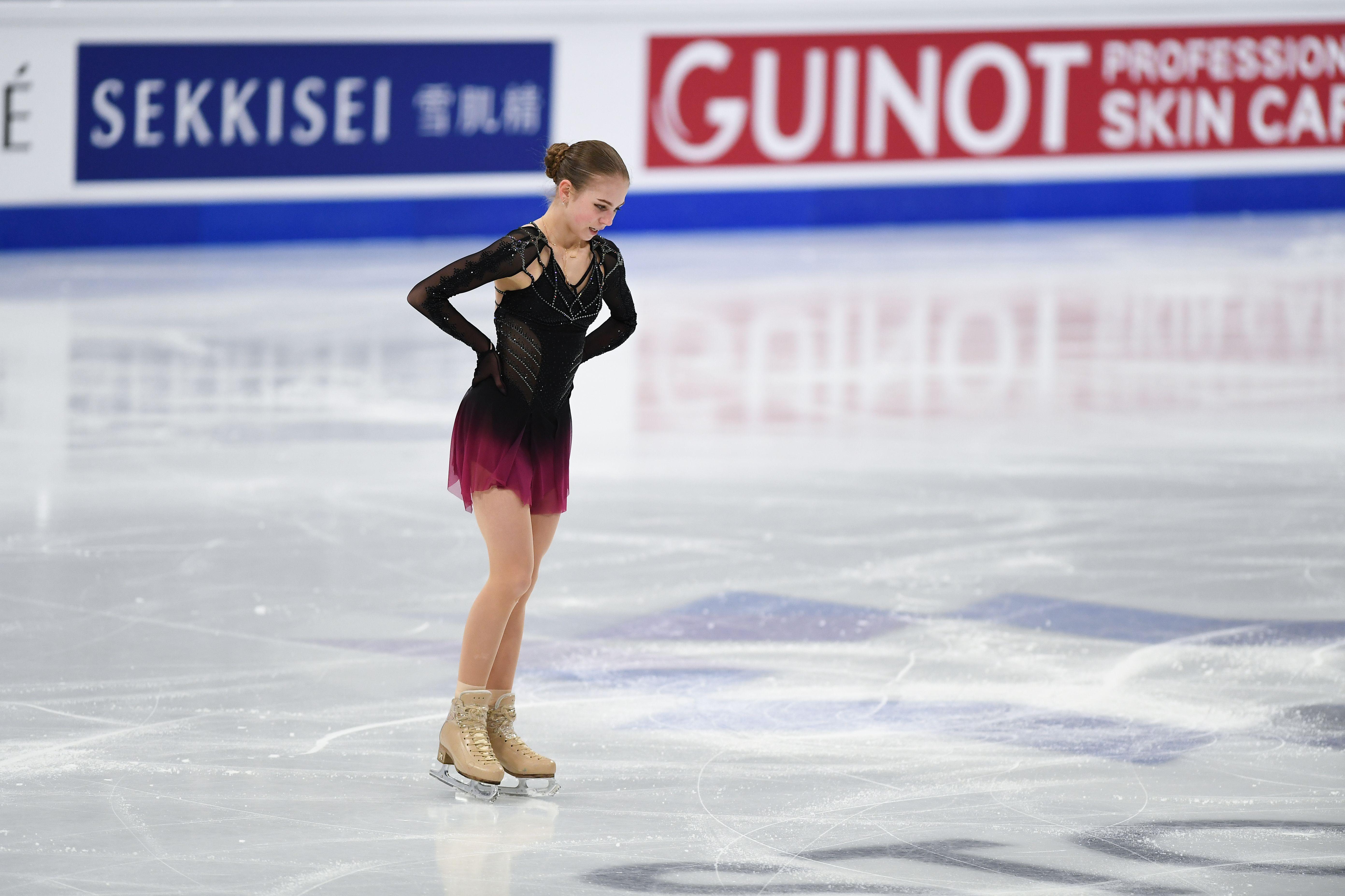 Трусова считает несправедливым запрет на четверные прыжки в короткой программе