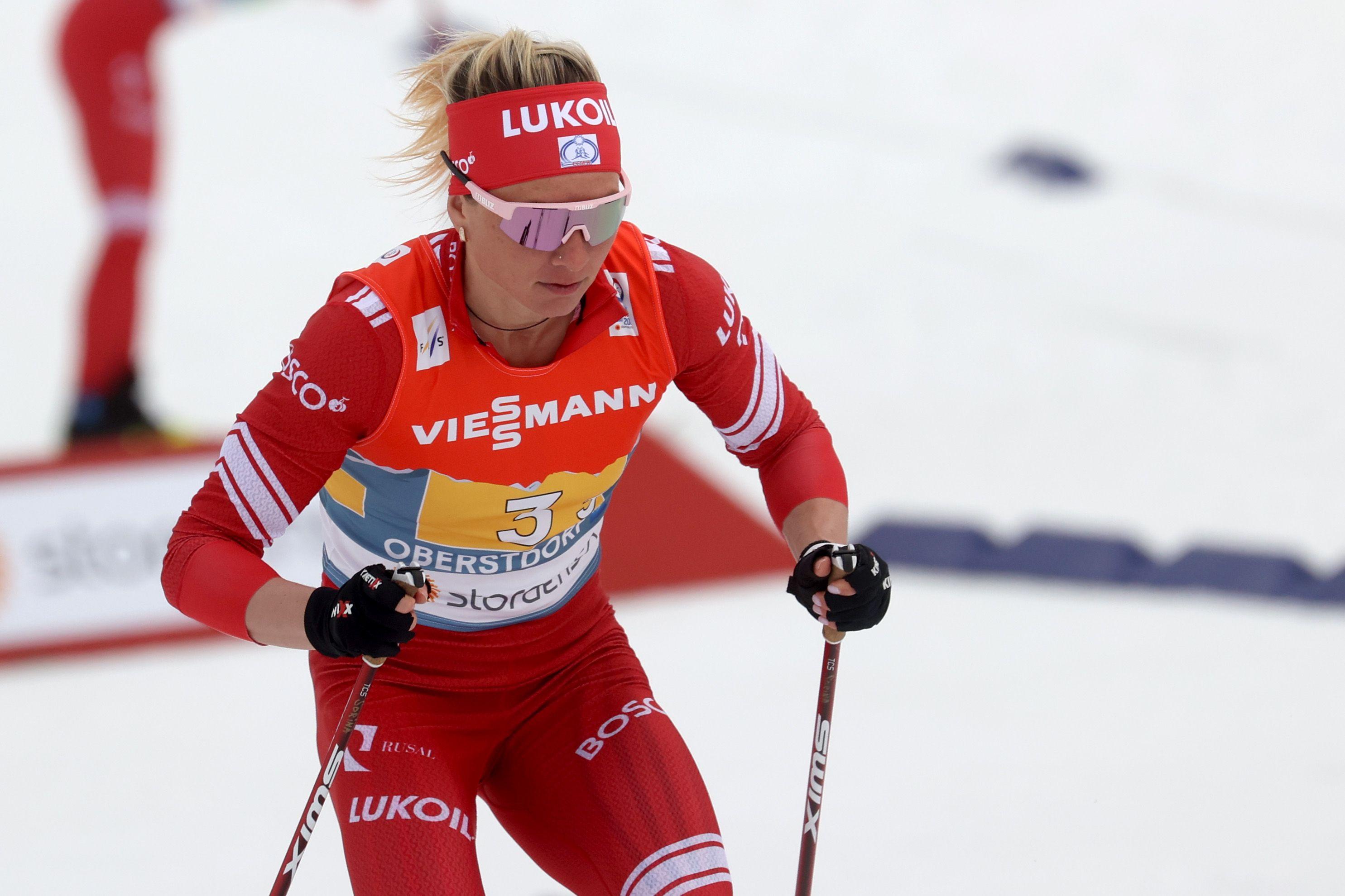 Сорина выиграла скиатлон на чемпионате России