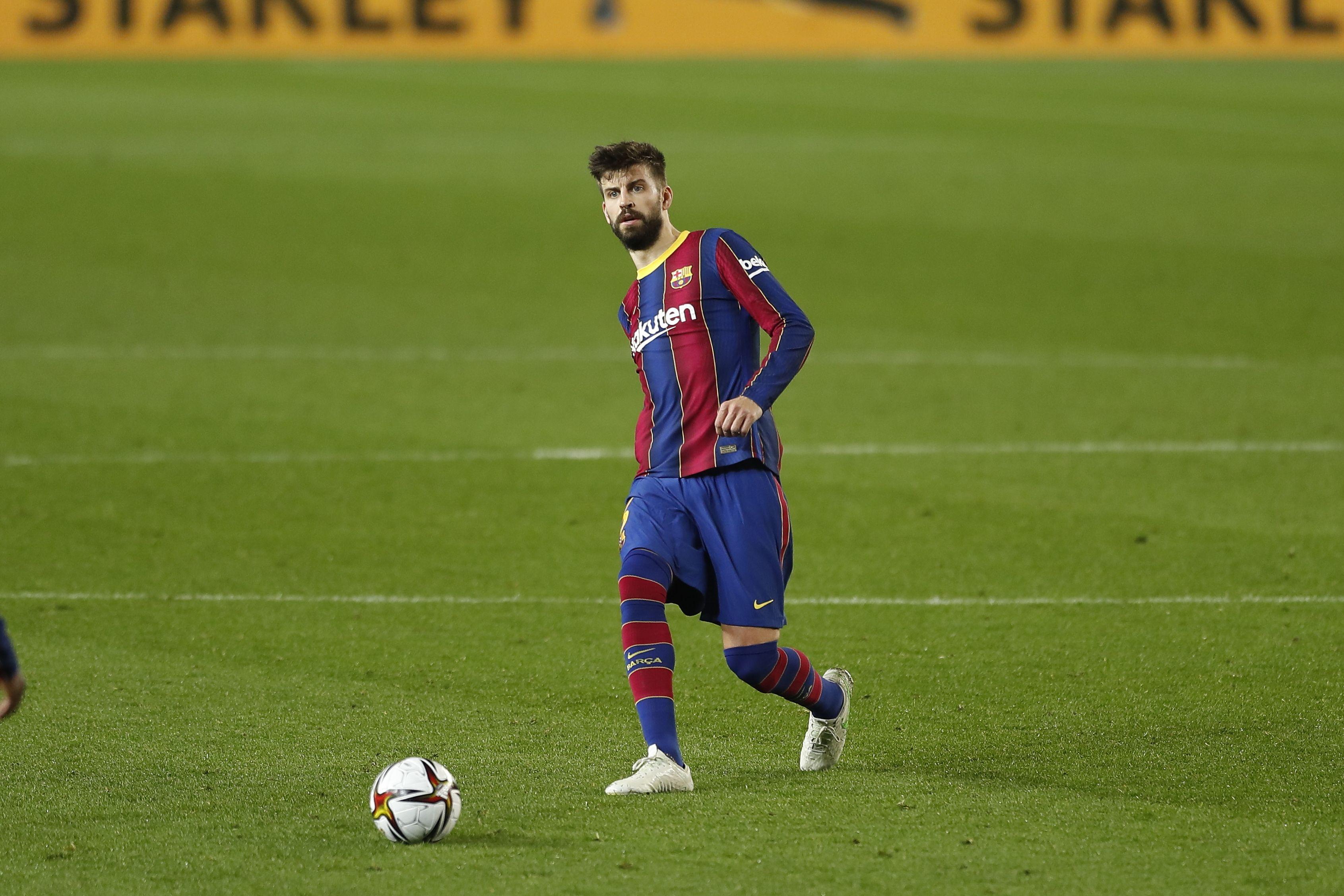 Пике возобновил тренировки с 'Барселоной'