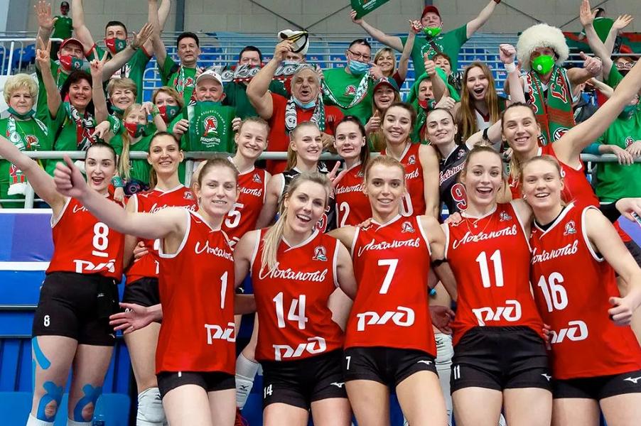 Волейболистки 'Локомотива' впервые в истории выиграли Суперлигу