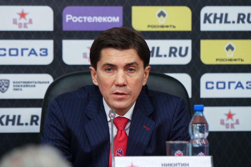 Никитин: 'Нужно знать историю, чтобы не повторить поражение от СКА с 3:0'