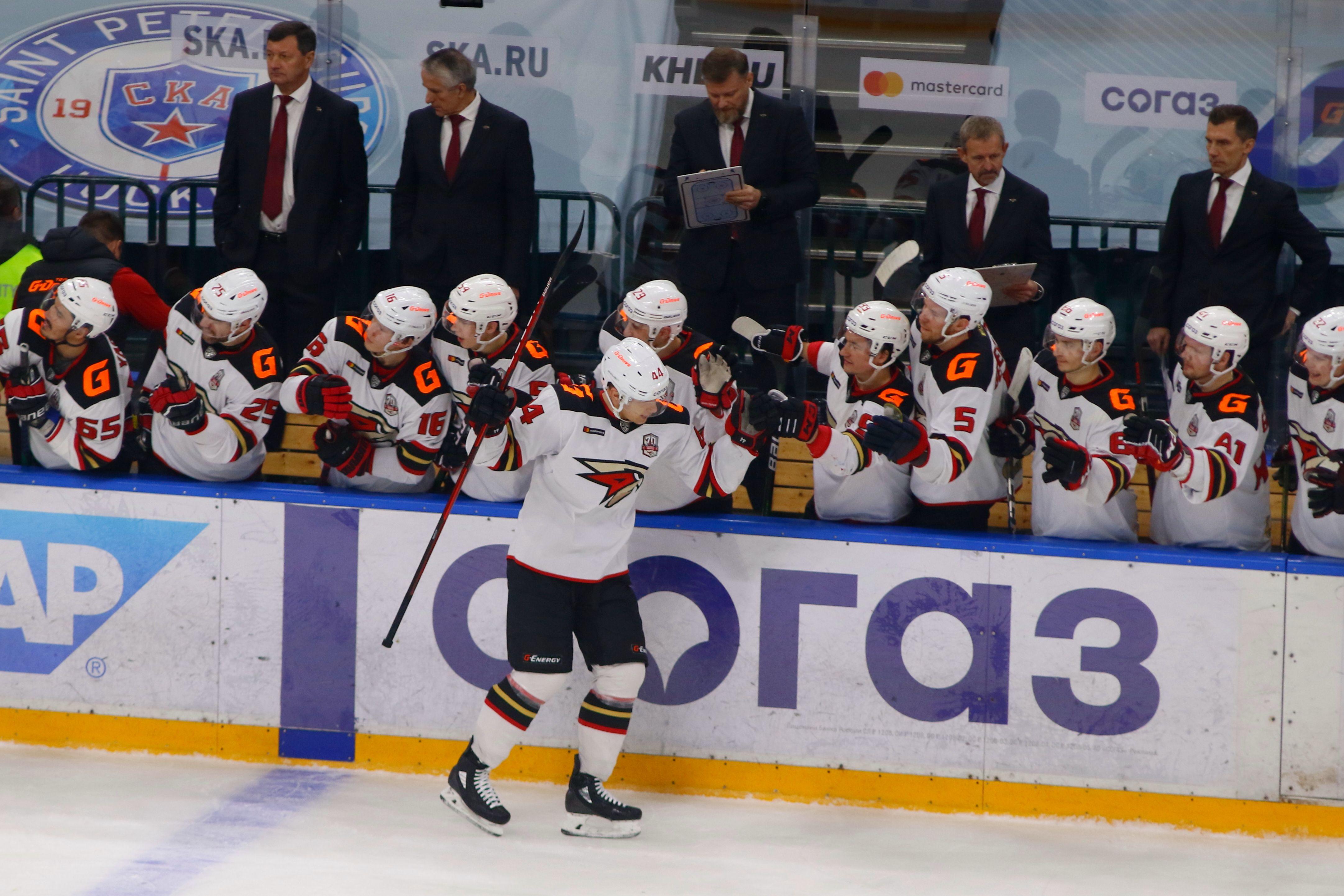 'Авангард' обыграл 'Ак Барс' в пятом матче полуфинальной серии Кубка Гагарина