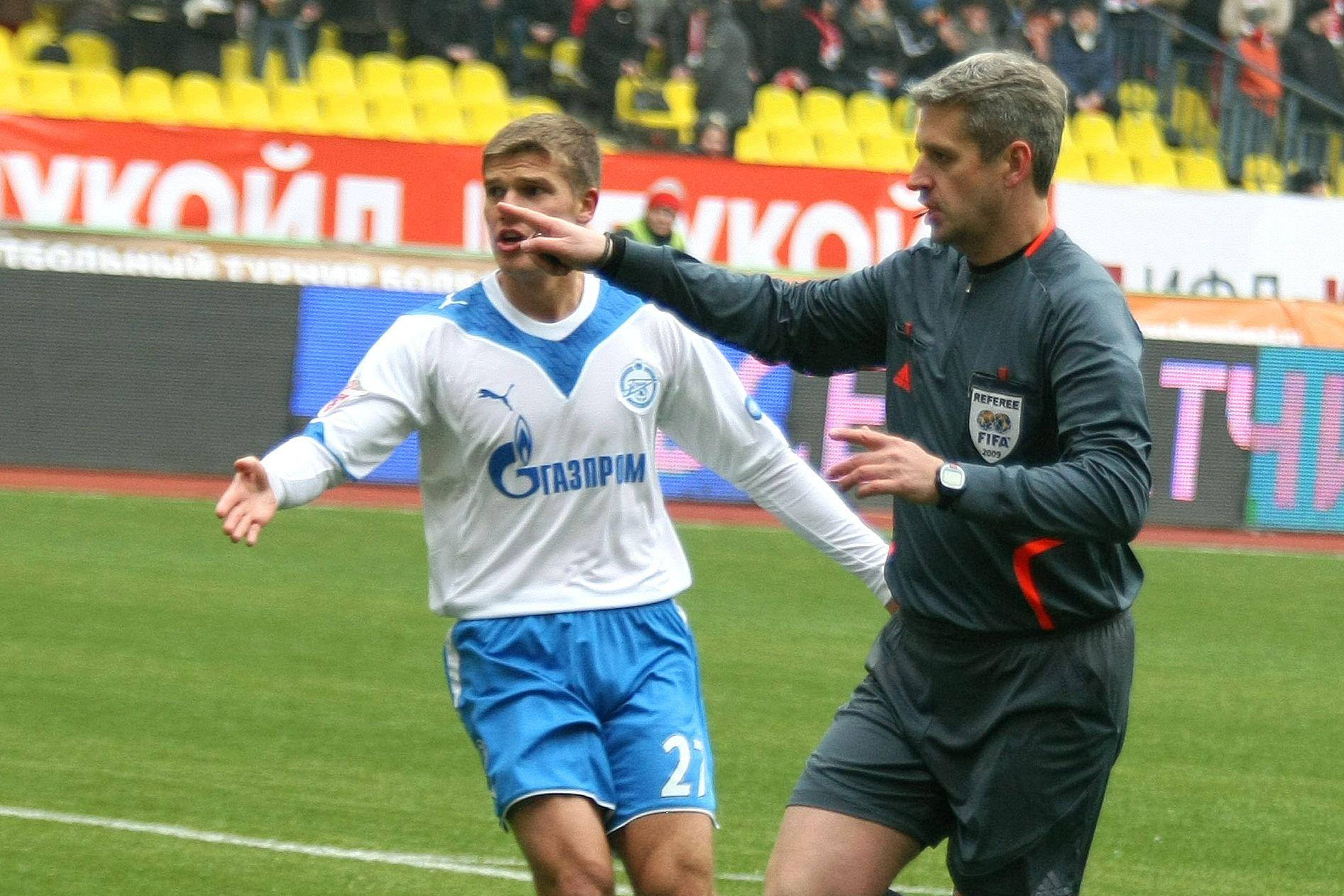 Сухина прокомментировал скандал с его посещением судейской перед матчем 'Локомотив' - 'Спартак'