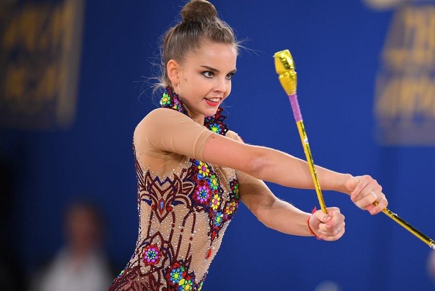 Гимнастка Дина Аверина выиграла личное многоборье на этапе Кубка мира в Ташкенте