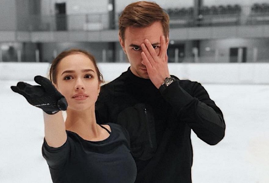 Танец Загитовой с Глейхенгаузом, шутки Валиевой и всё, что осталось за кадром шоу в Санкт-Петербурге. ВИДЕО