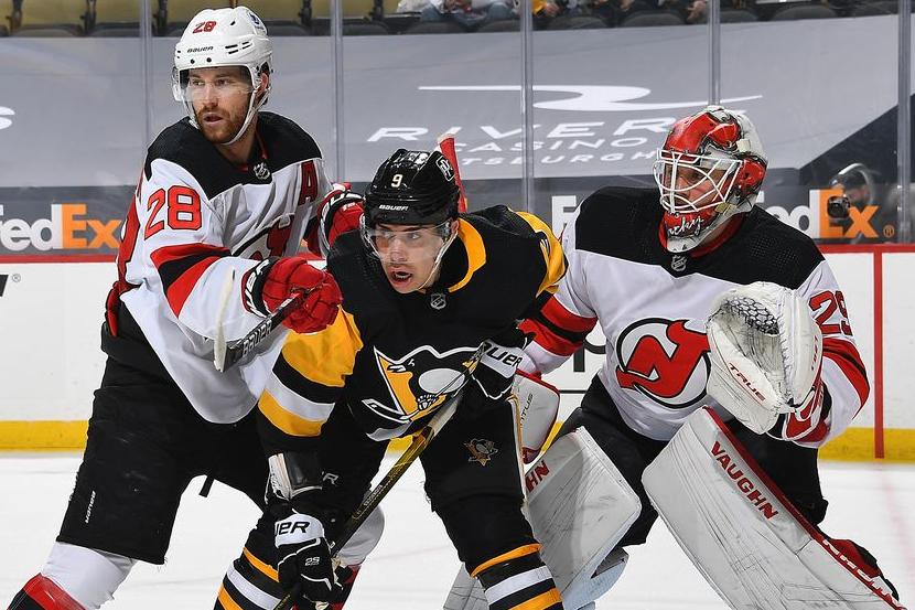 Хоккеистам 'Питтсбурга' удалось установить историческое достижение в НХЛ. ВИДЕО