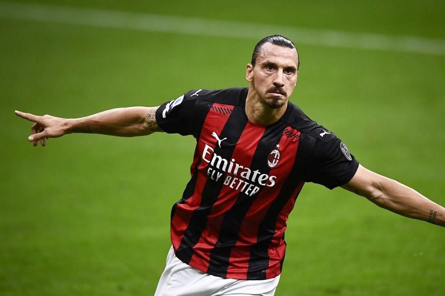 'Милан' объявил о продлении контракта с 39-летним Ибрагимовичем
