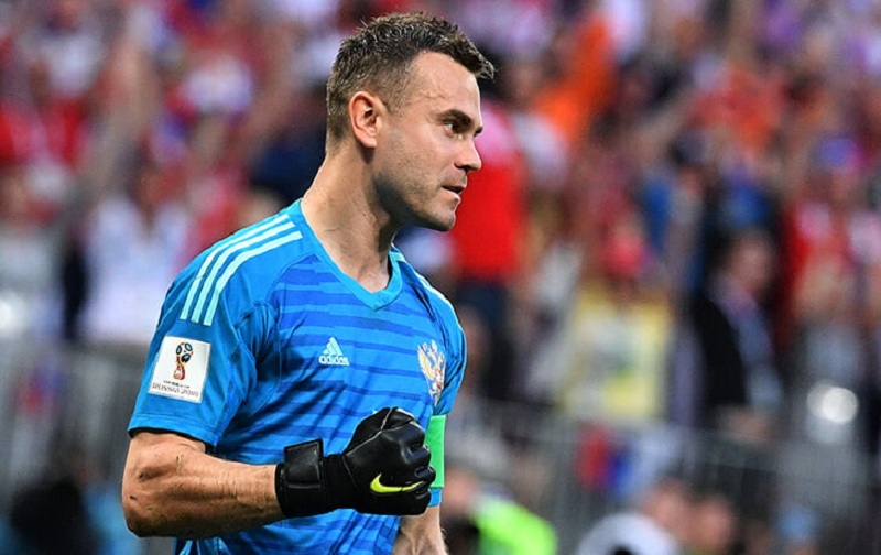Акинфеев отреагировал на поражение ЦСКА в матче со 'Спартаком'