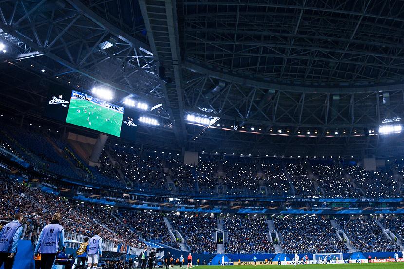 Стадион 'Зенита' на матче РПЛ с 'Локомотивом' будет заполнен на 75%