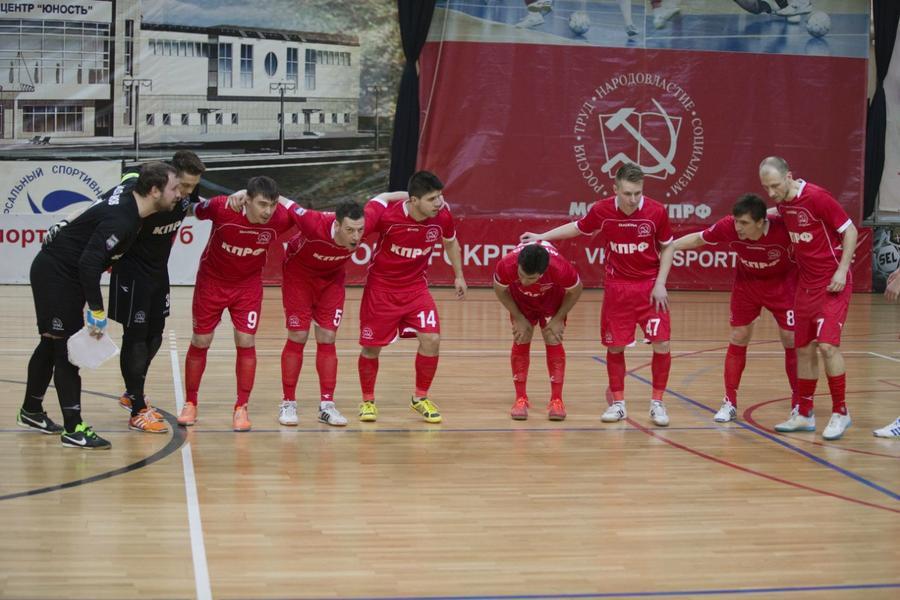 КПРФ проиграл 'Спортингу' в четвертьфинале мини-футбольной Лиги чемпионов