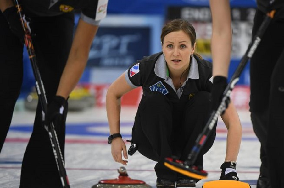 Женская сборная России по кёрлингу победила Германию на ЧМ-2021