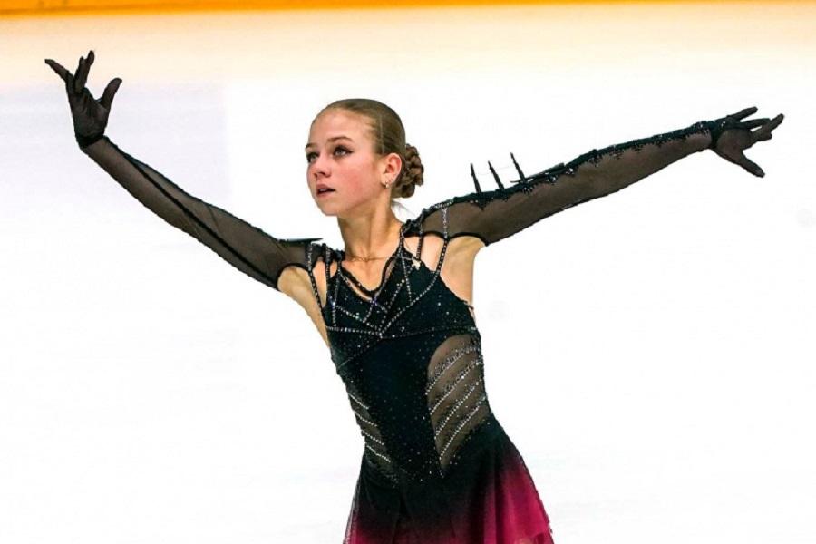 Трусова уже провела первую тренировку в группе Тутберидзе. ВИДЕО