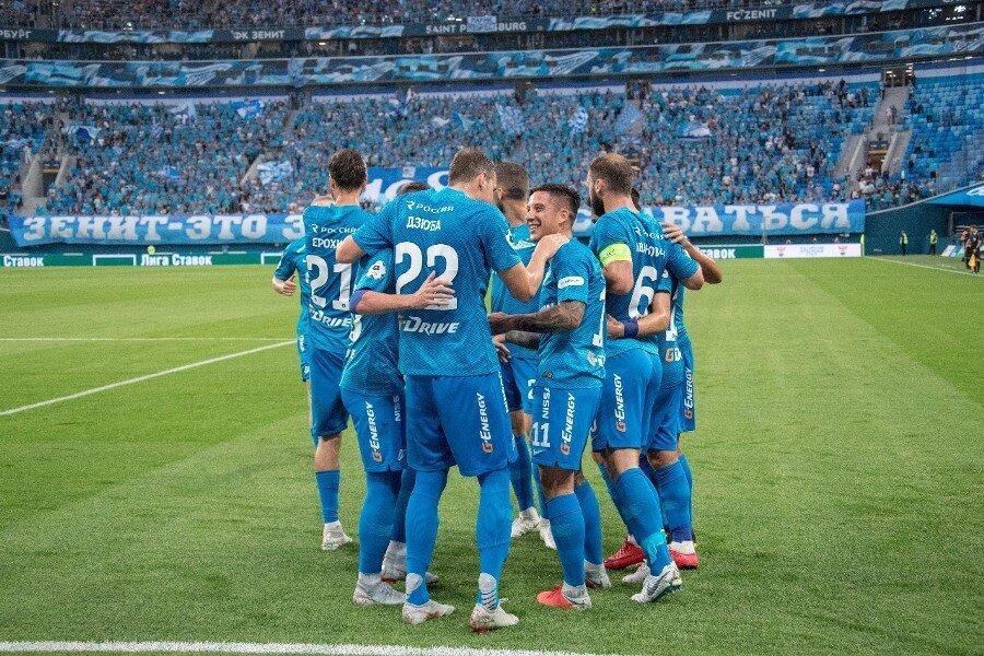 Как 'Зенит' разнёс 'Локомотив' и стал чемпионом России - 6:1: все голы матча. ВИДЕО