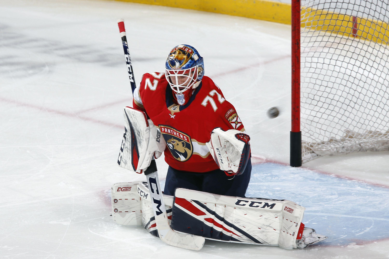 Бобровский показал лучший результат на старте сезона за всю карьеру в НХЛ