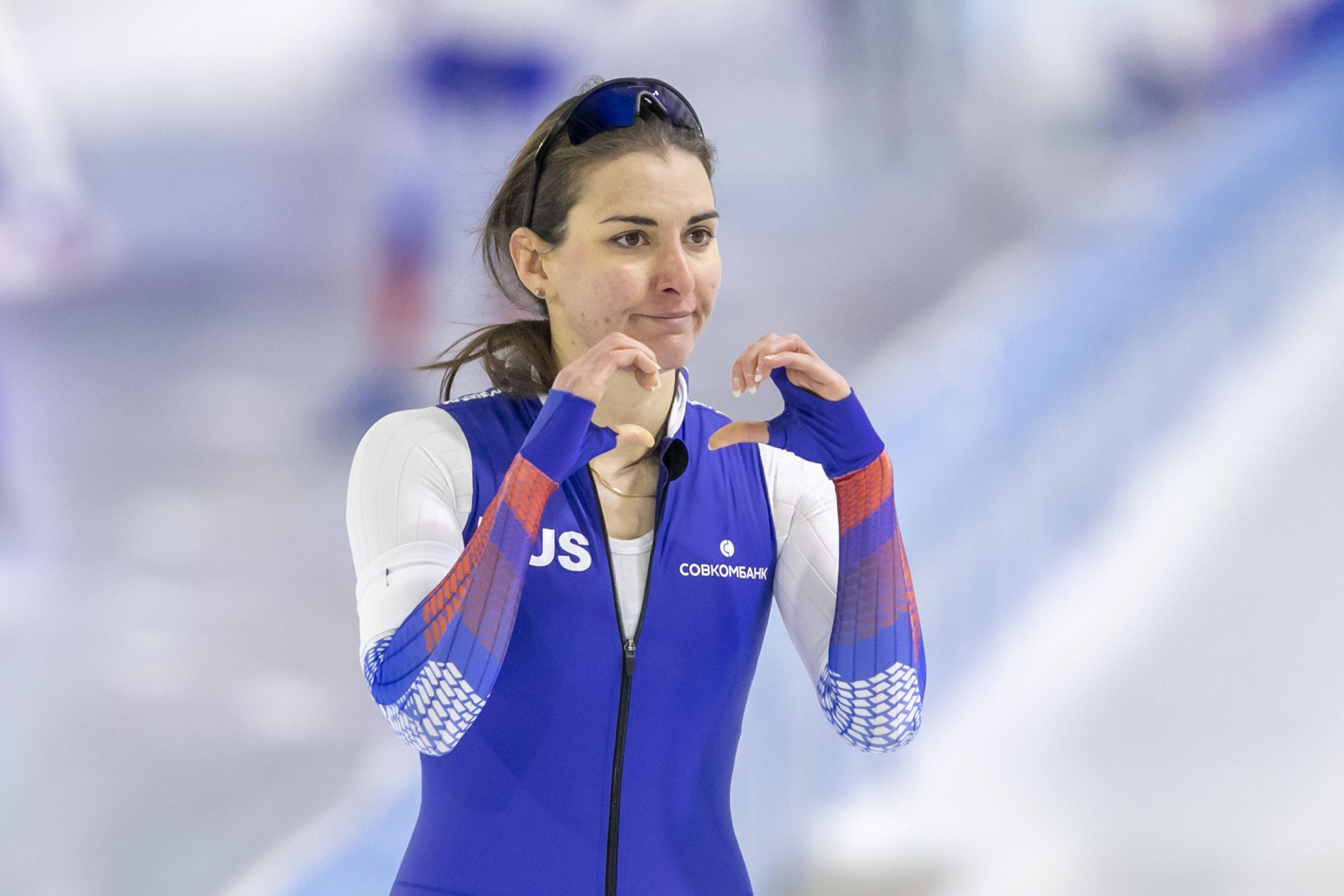 Россиянка Голикова — чемпионка мира по конькобежному спорту на дистанции 500 метров