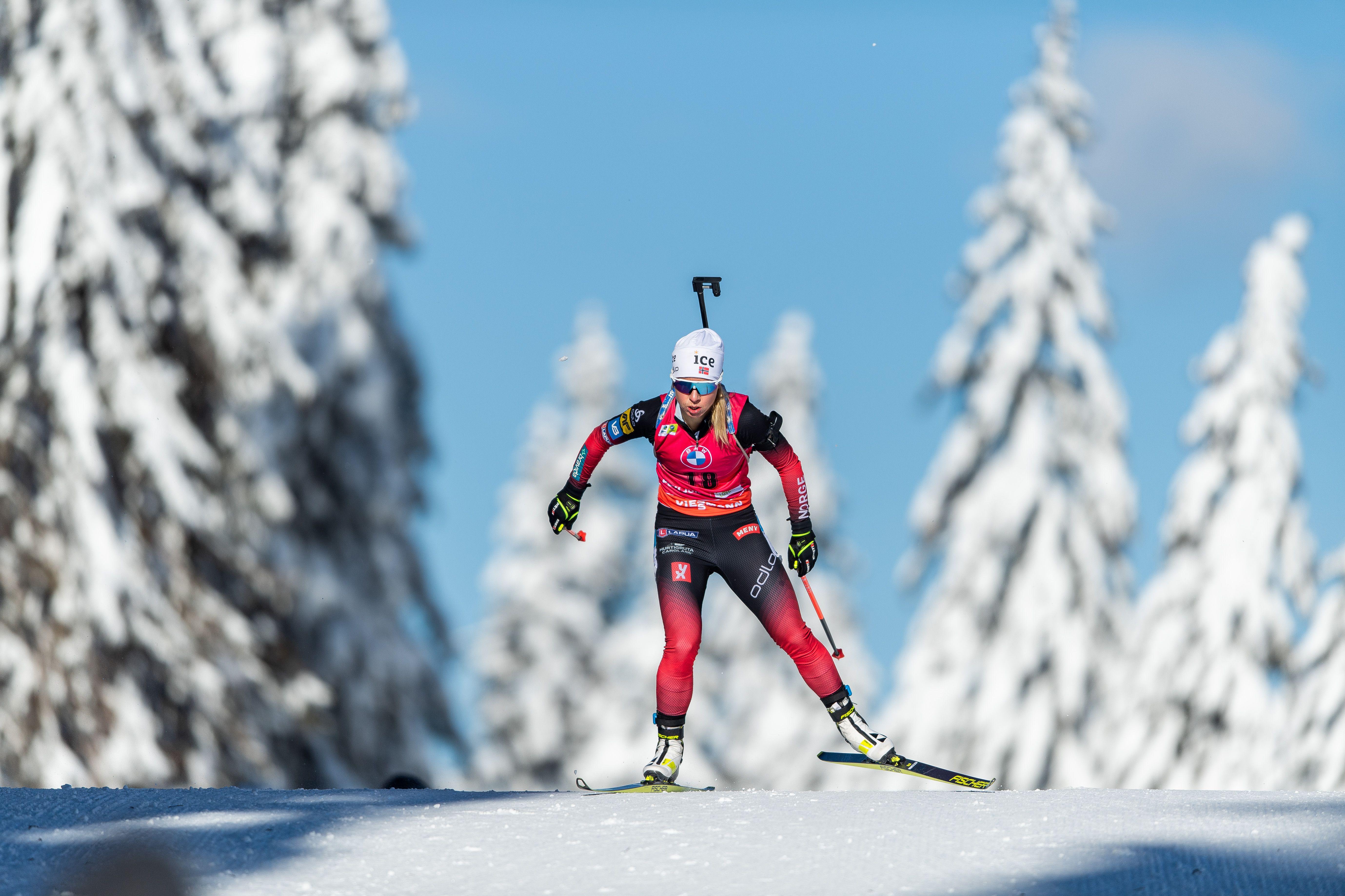 Носкова завоевала серебро в спринте на этапе Кубка IBU в Брезно-Осрблье: все результаты россиянок