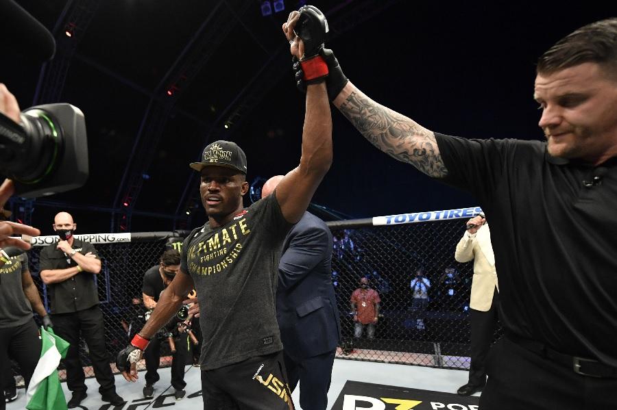 Как Усман нокаутировал Бернса на UFC 258 (ВИДЕО)