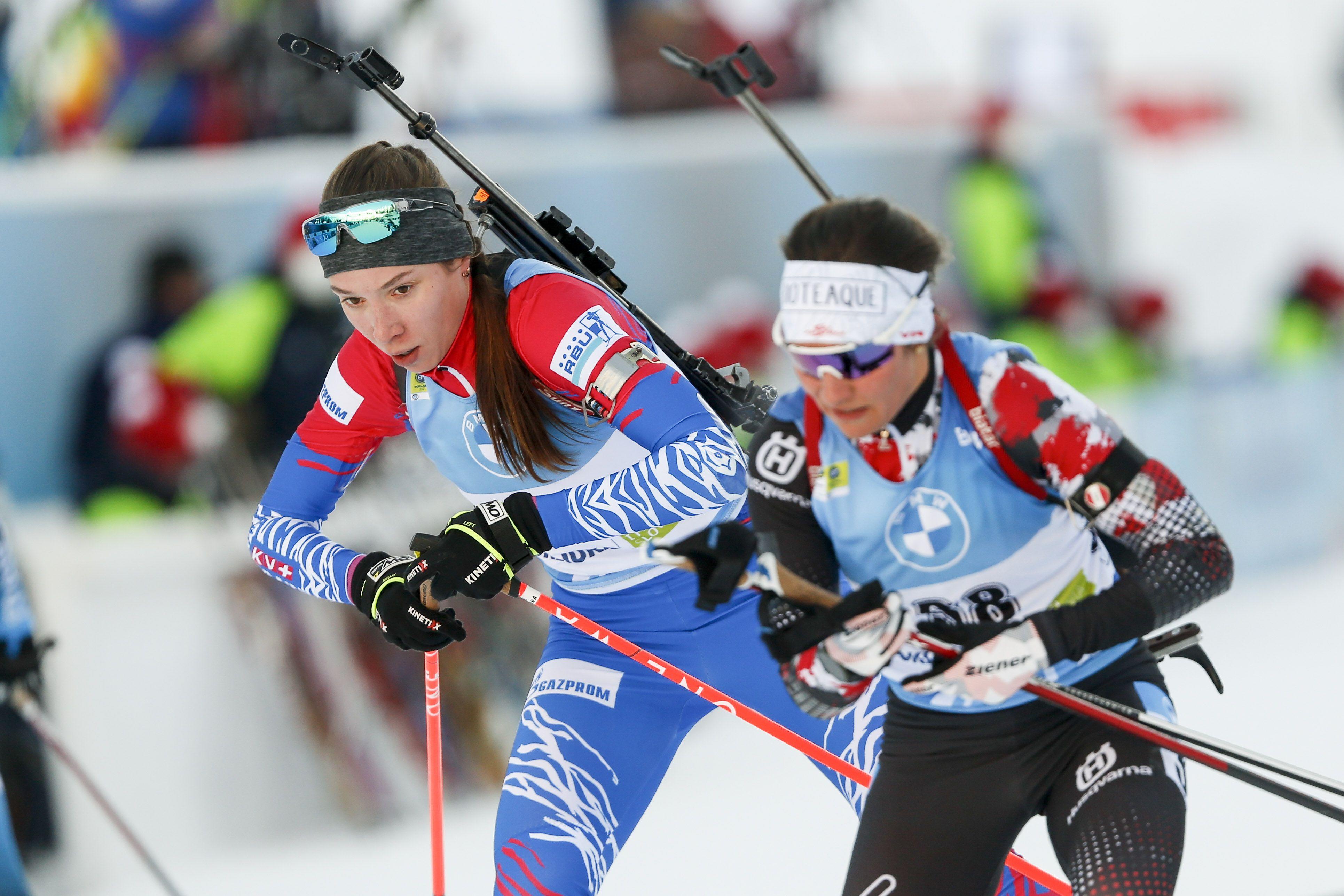 Определён состав сборной России на женскую индивидуальную гонку на ЧМ по биатлону