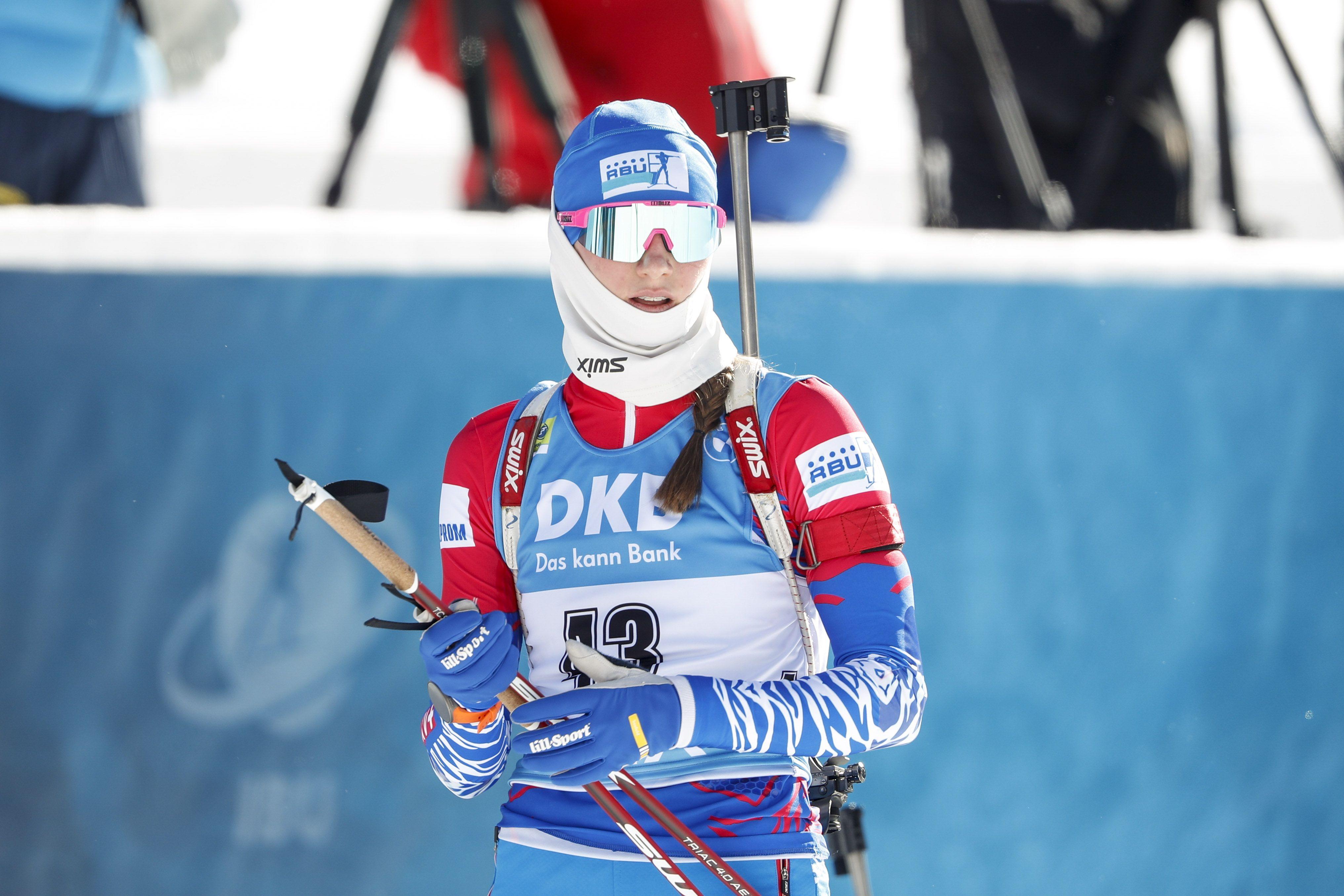 Рожков рассказал, по какой причине Миронова заявлена на 'индивидуалку' после 6 промахов в спринте