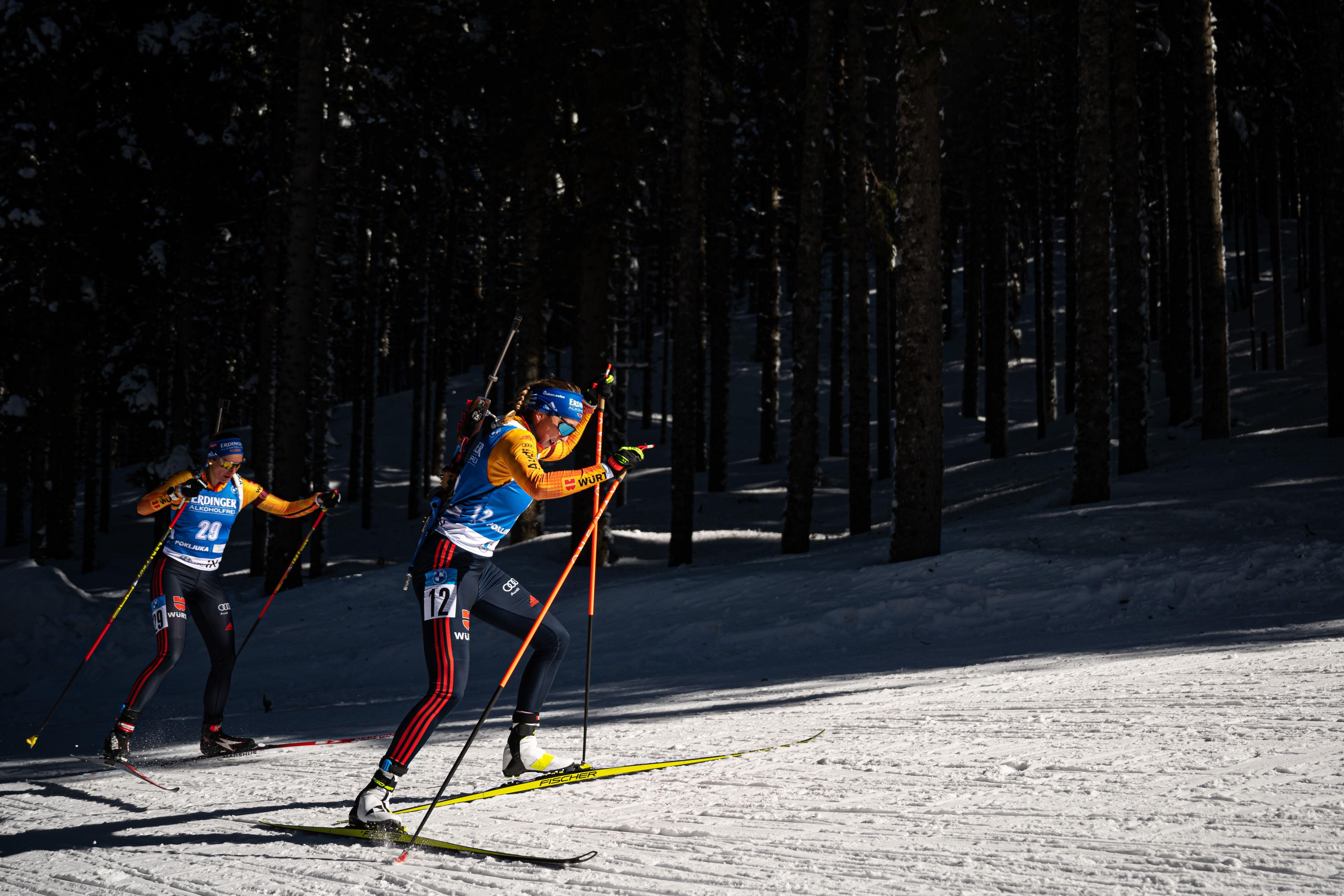 Российские биатлонисты узнали стартовые номера на индивидуальную гонку на ЧМ-2021