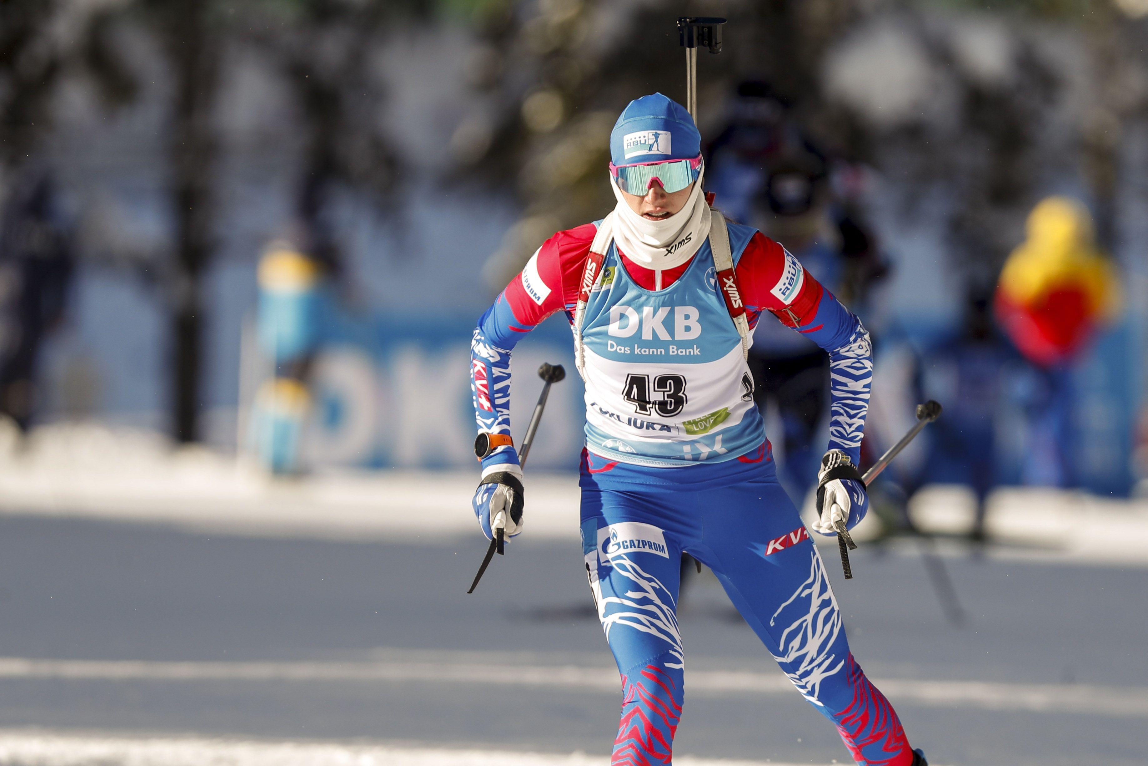 Определился состав сборной России на женский масс-старт на ЧМ по биатлону