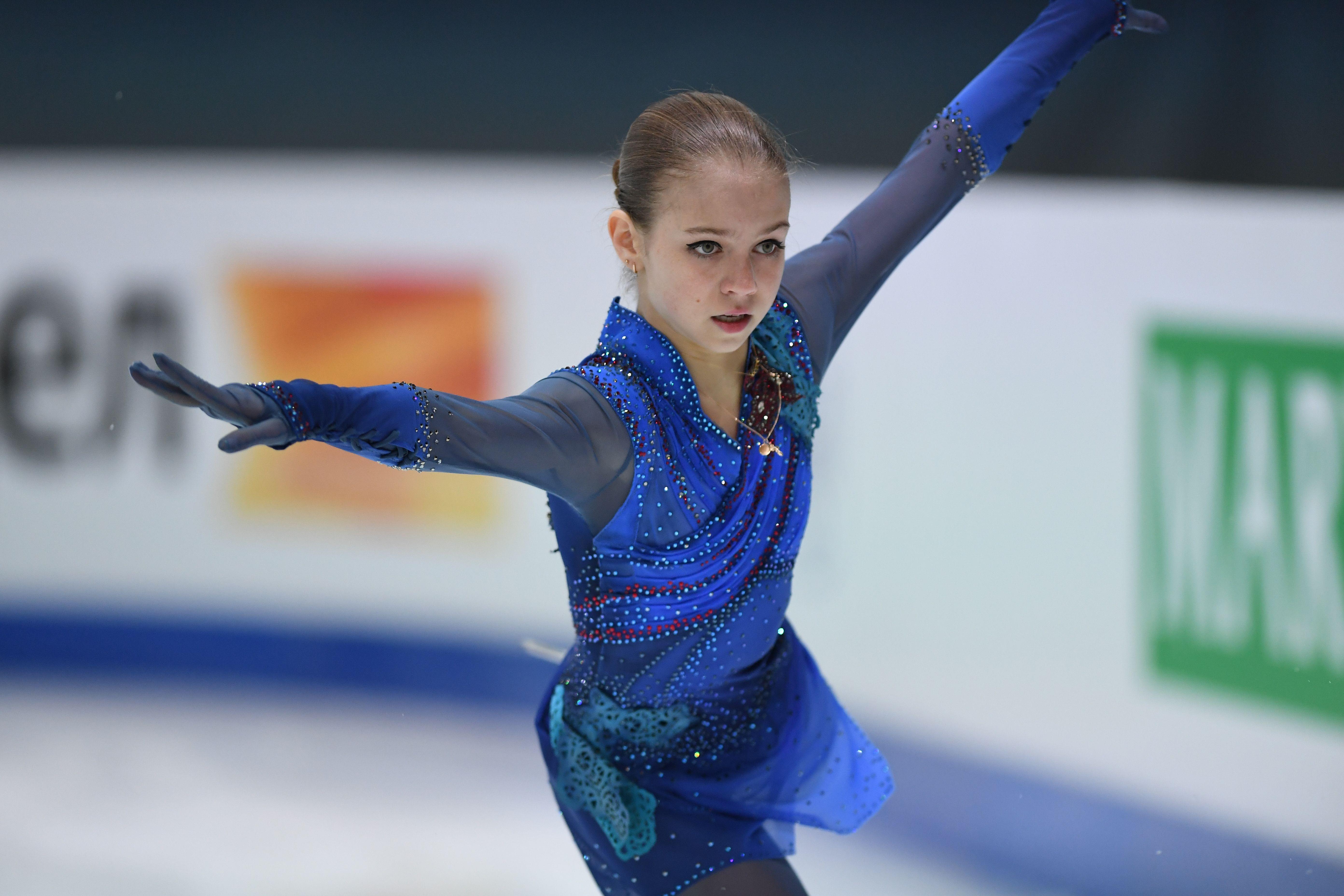 Трусова прокомментировала информацию о возвращении к Тутберидзе
