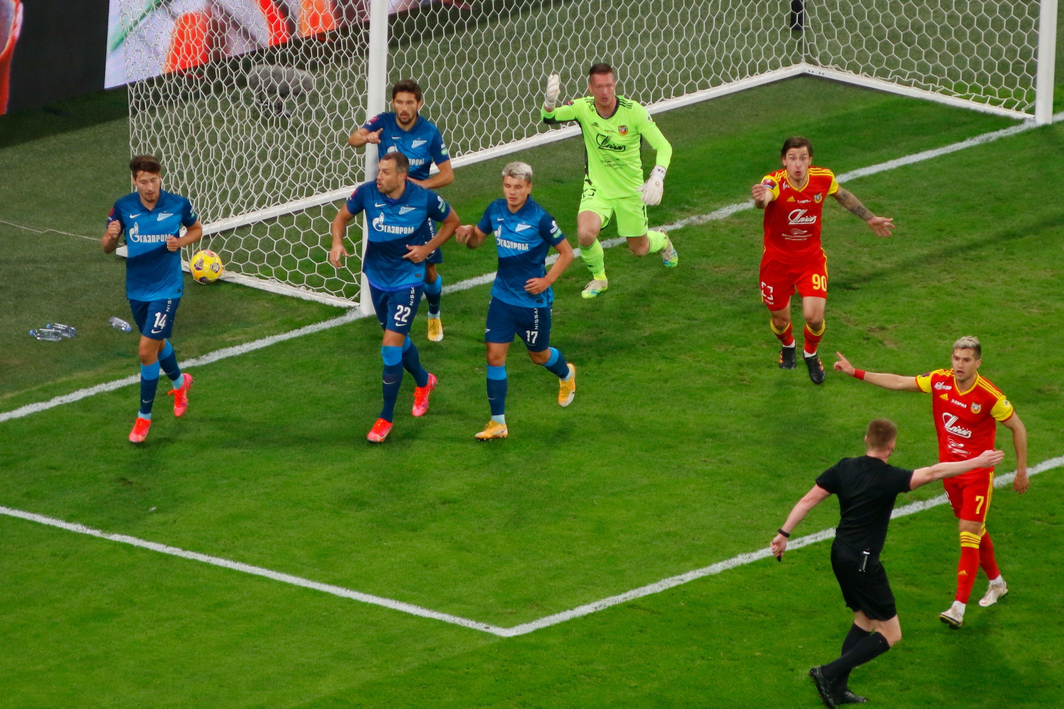Как 'Арсенал' выбил 'Зенит' из Кубка России - 2:1: все голы матча. ВИДЕО