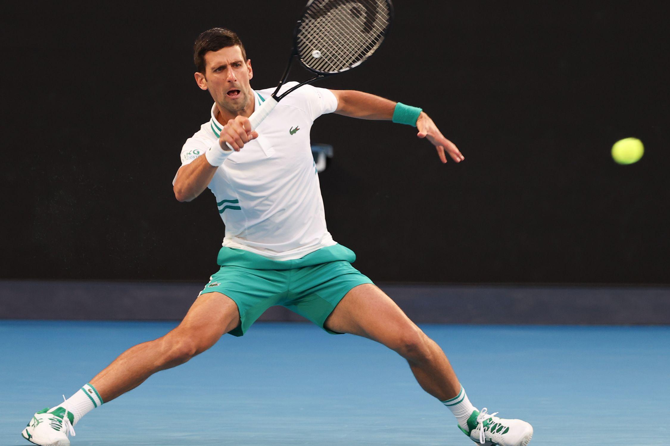 Эмоции Джоковича после победы в финале Australian Open с Медведевым (ВИДЕО)