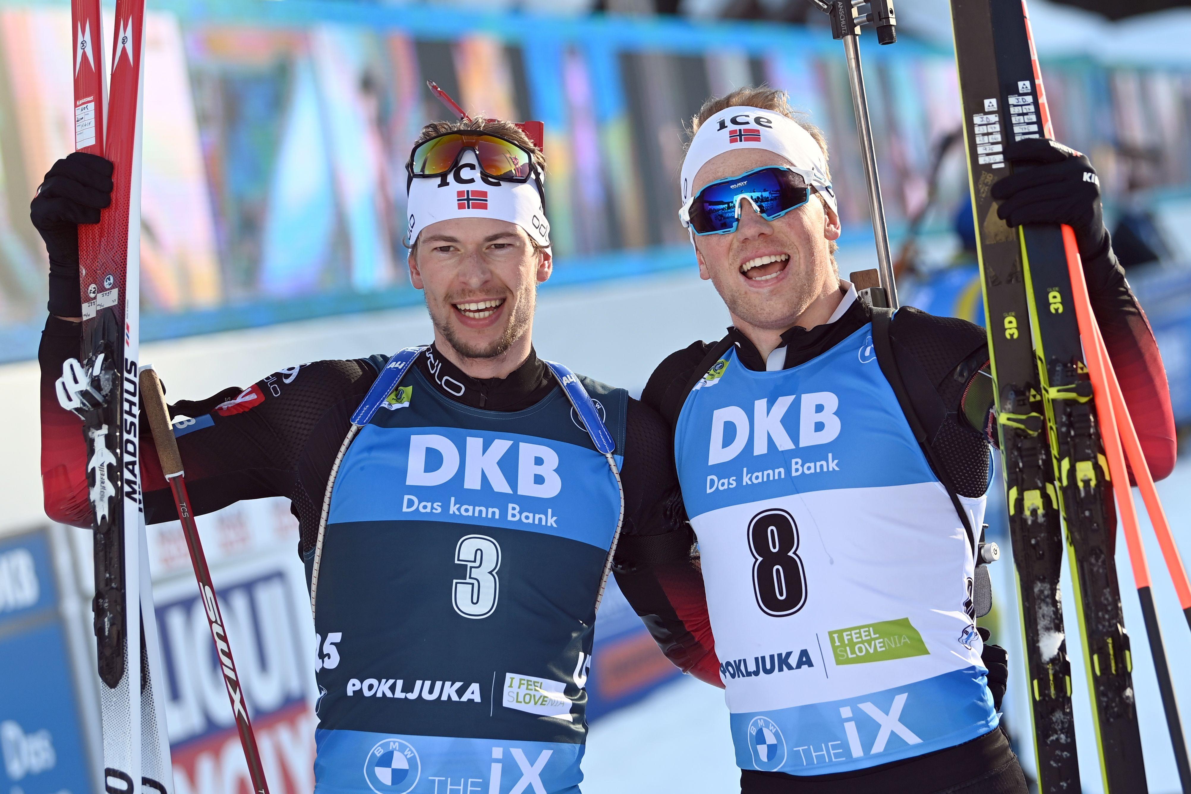Норвегия выиграла медальный зачёт чемпионата мира по биатлону