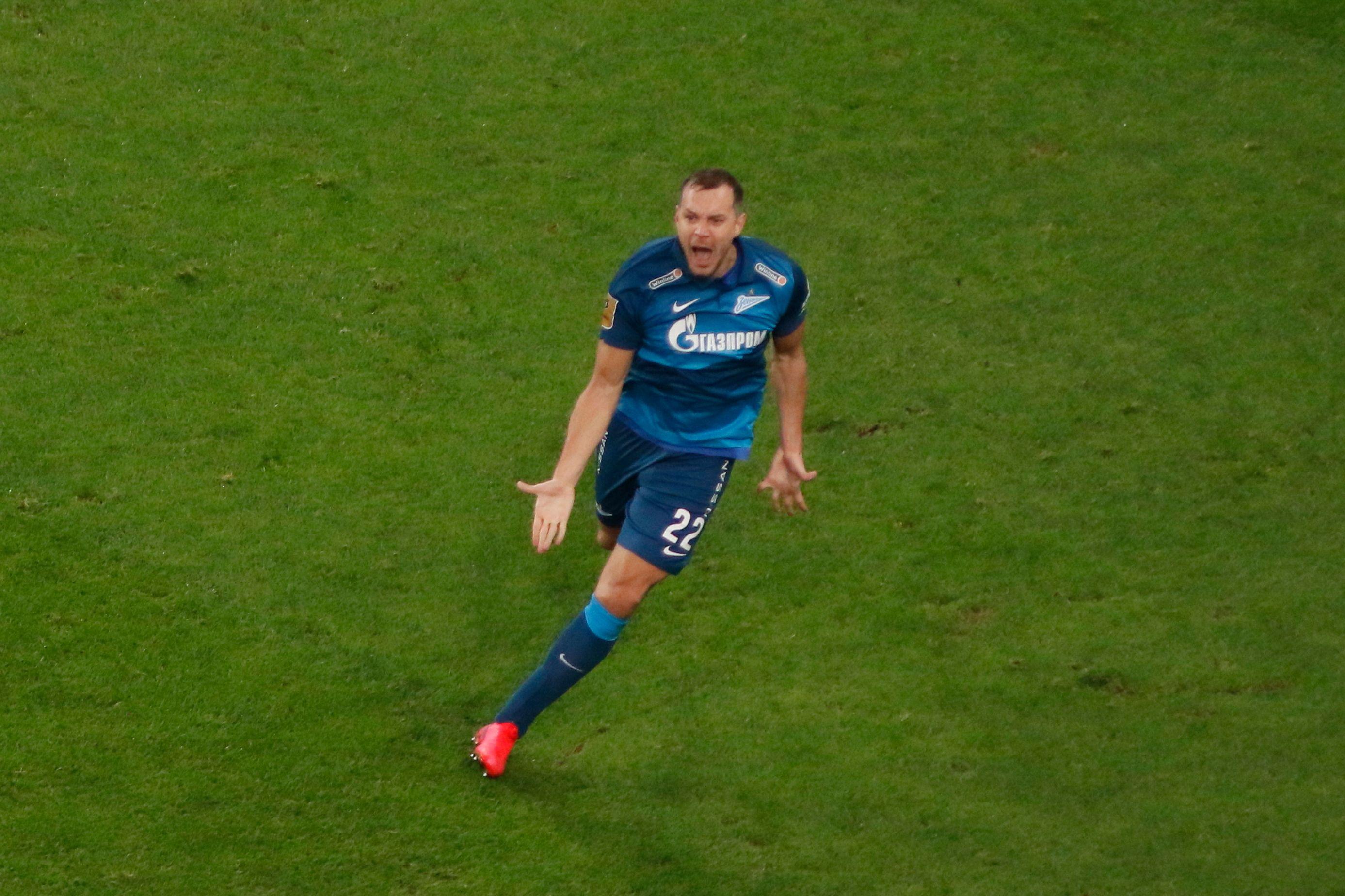 Дзюба: 'Для меня важны все голы в ворота 'Спартака'. Каждый гол как бальзам на душу'