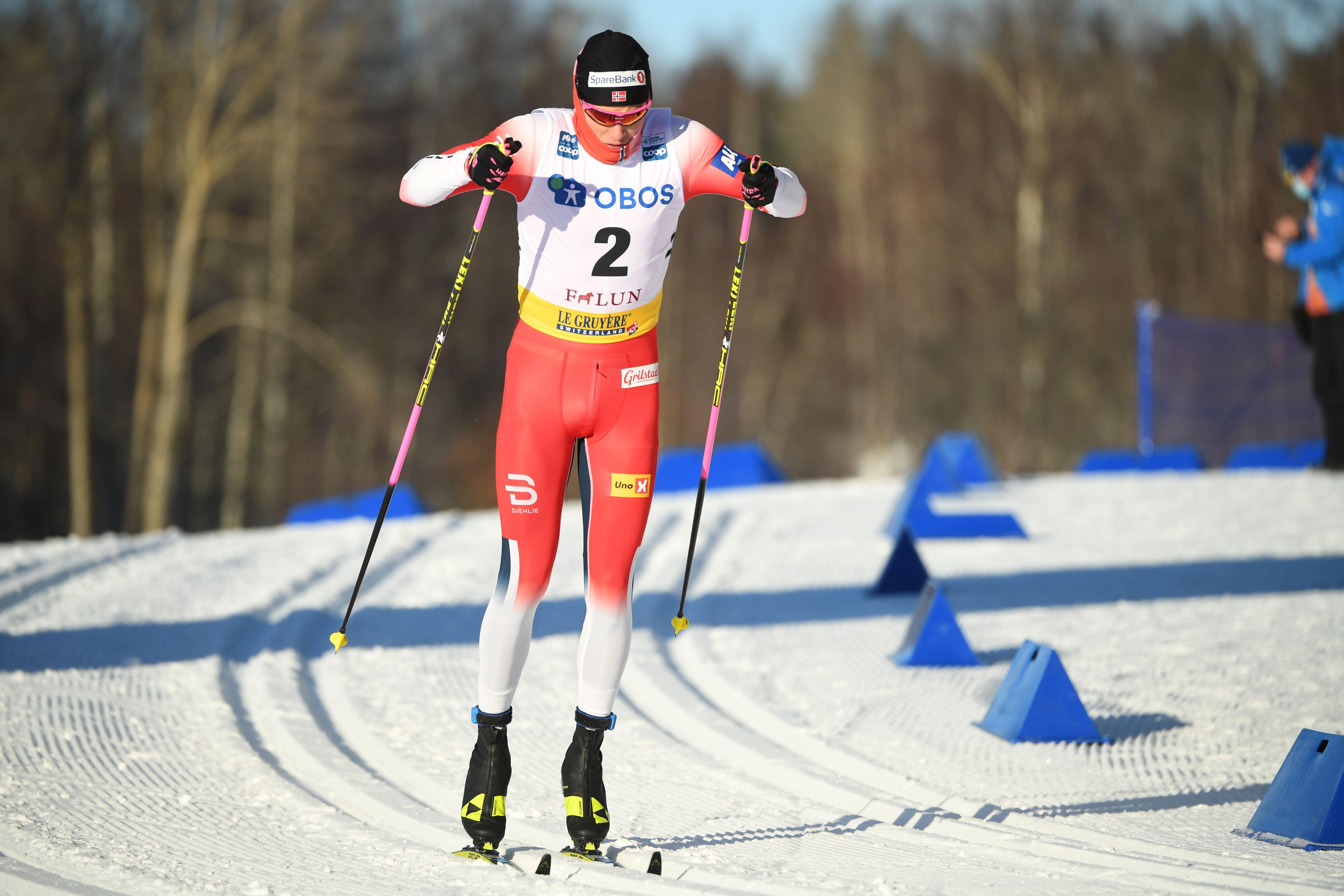Норвежский лыжник Вальнес - о словах Клебо: 'Я не куплюсь на психологическую войну'