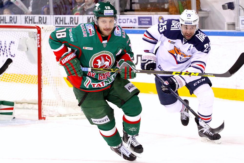 Хоккей, КХЛ, Ак Барс - Металлург М, Прямая текстовая онлайн трансляция