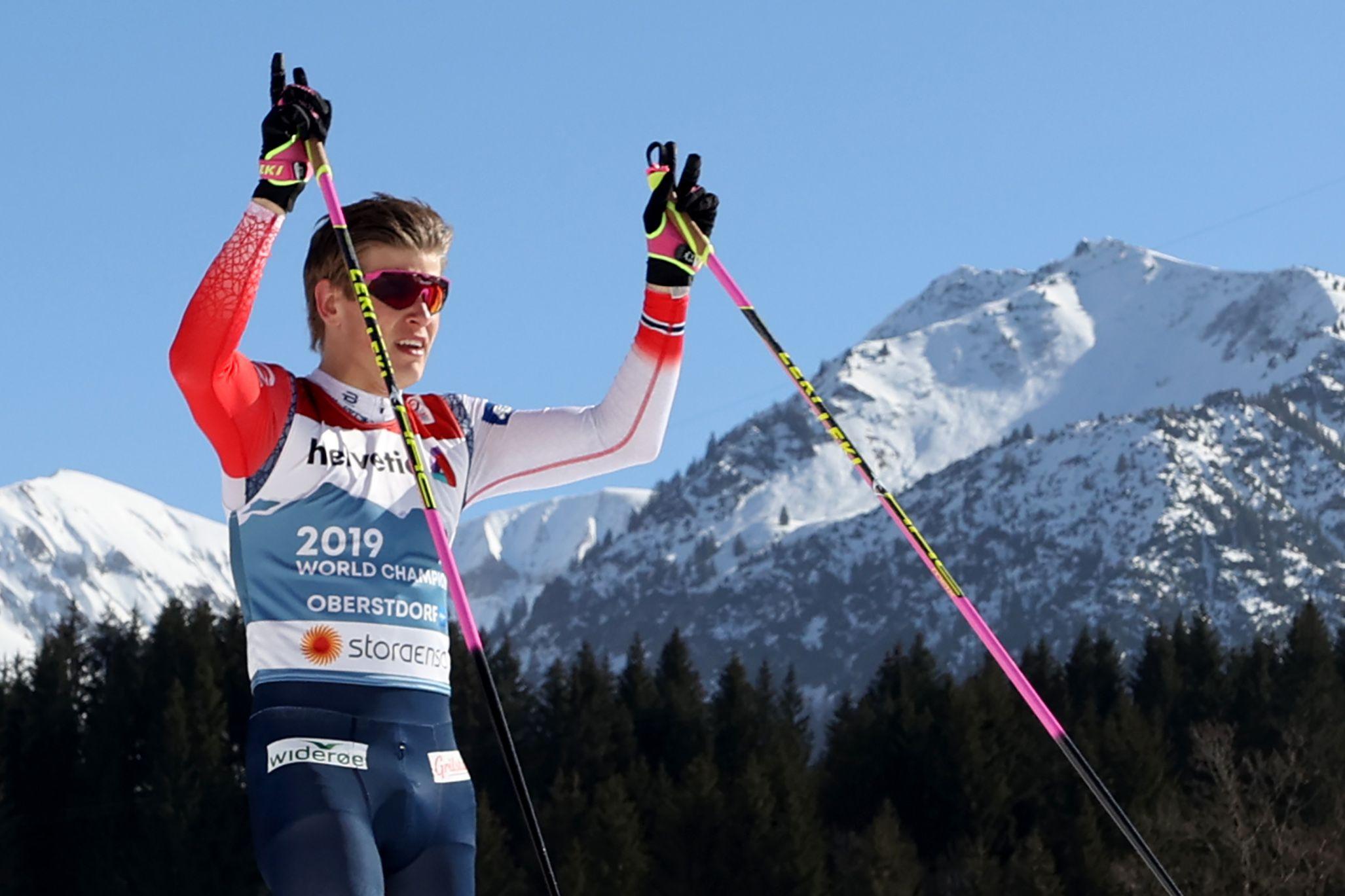 Клебо - о победе в спринте на ЧМ-2021: 'За этой медалью стоит столько лишений'