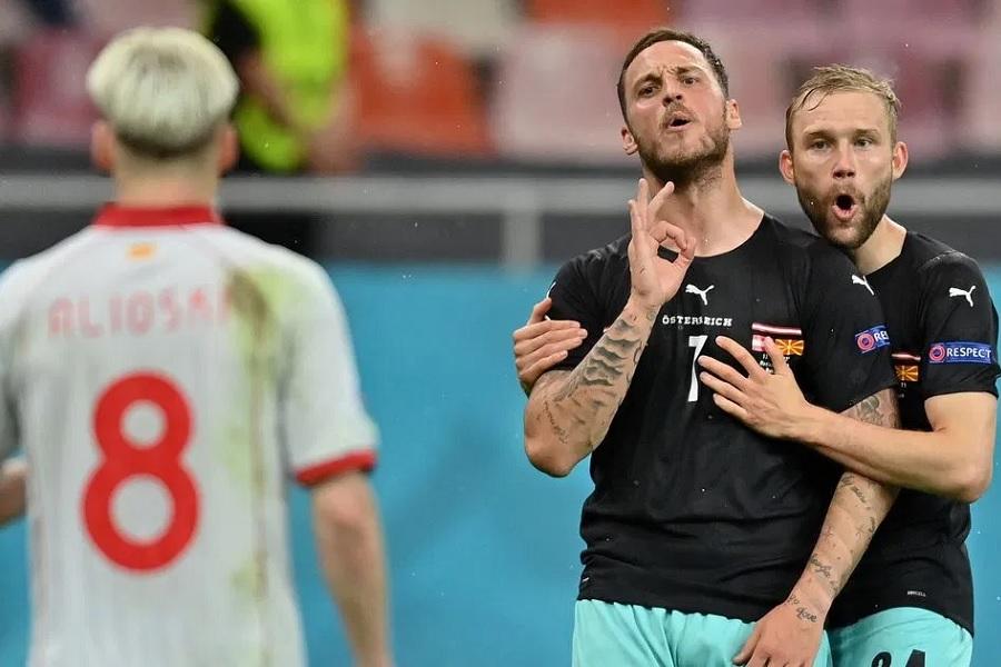 УЕФА дисквалифицировал форварда сборной Австрии, который оскорблял Македонию