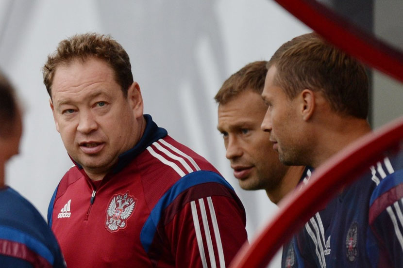 Слуцкий поддержал Березуцкого, который стал и.о. главного тренера ЦСКА