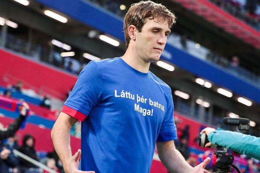 Защитник сборной России Фернандес перед игрой с Данией занимается по индивидуальной программе
