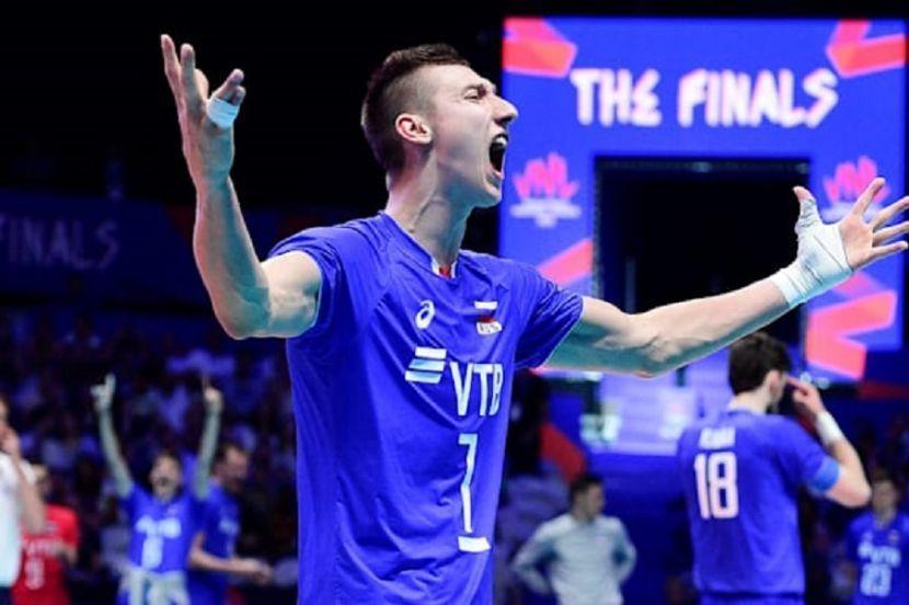 Волейбол, Лига наций, мужчины, Россия - Италия, прямая текстовая онлайн трансляция