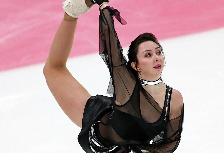 Туктамышевой показала ироничный снимок с эстонской фигуристкой. ФОТО