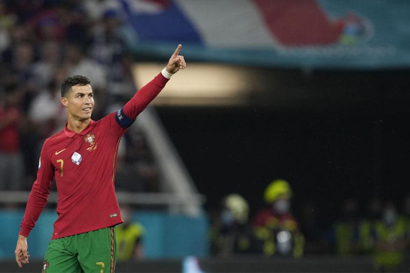 Роналду прокомментировал выход сборной Португалии в плей-офф чемпионата Европы