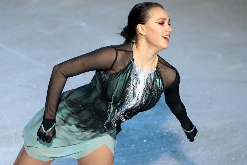 Загитова опубликовала кадры с репетиции ледового шоу Навки. ВИДЕО