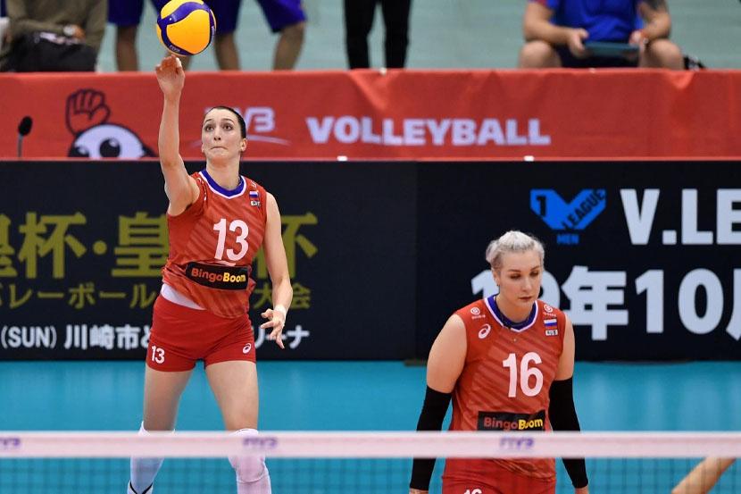 Обнародован предварительный состав женской сборной России по волейболу на Олимпийские игры