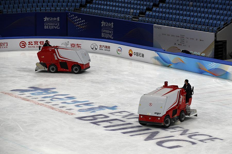 Тут будут кататься российские фигуристки в 2022 году: олимпийская арена для фигуристов в Пекине. ФОТО