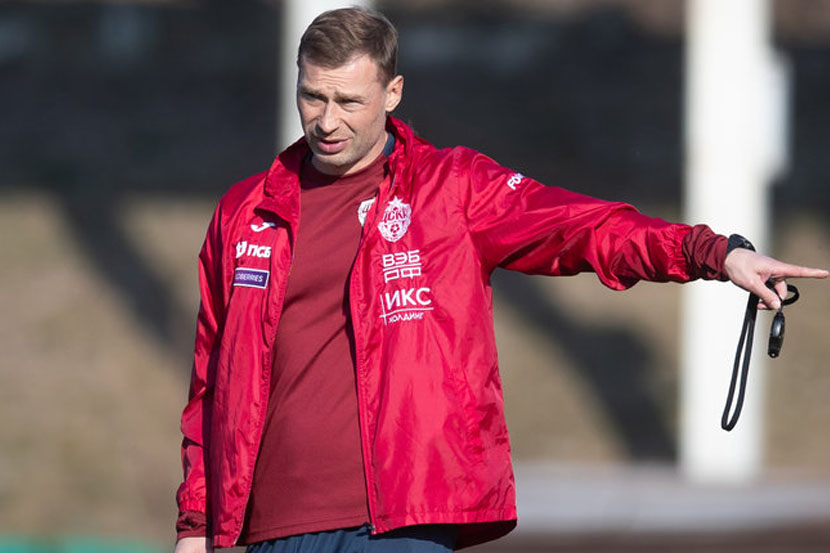 Березуцкий ещё не выбрал стартовый состав ЦСКА на новый сезон
