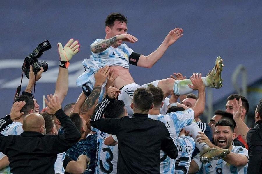Месси выиграл первый трофей в карьере в составе сборной Аргентины
